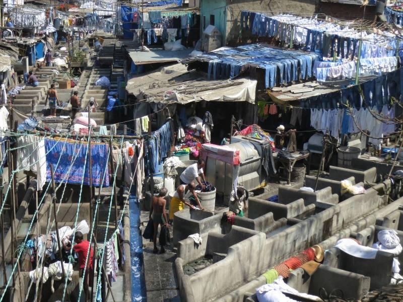 Dhobi Ghat At Mahalaxmi